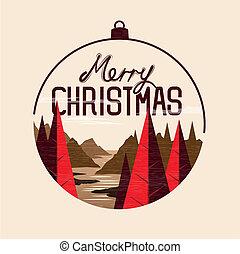 クリスマス, 陽気, 挨拶