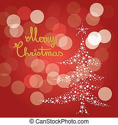 クリスマス, 陽気, 赤