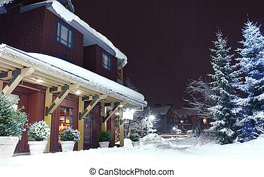 クリスマス, 雪が多い