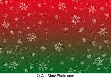 クリスマス, 雪