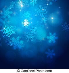 クリスマス, 雪, ライト