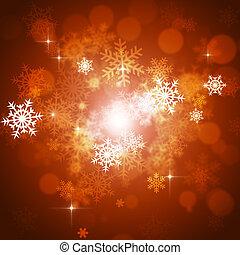 クリスマス, 雪, 背景