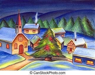 クリスマス, 風景