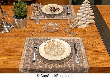 クリスマス, 2, テーブル