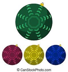 クリスマス, balls-03