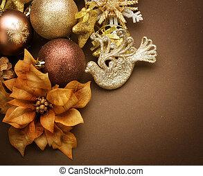 クリスマス, decorations., 型, スタイルを作られる