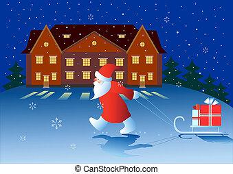 クリスマス, night.