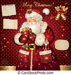 クリスマス, santa