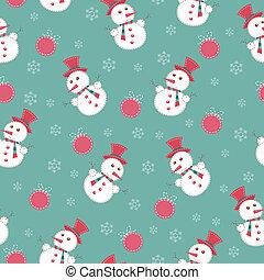 クリスマス, seamless, 型