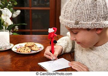 クリスマス, wishlist
