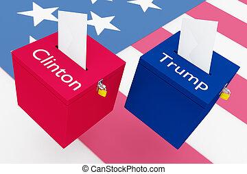 クリントン, 概念, ∥対∥, 切り札, 選挙