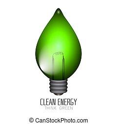 クリーンエネルギー, イラスト