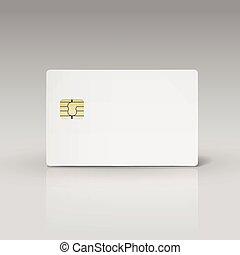 クレジット, ∥あるいは∥, カード, 電話, 白