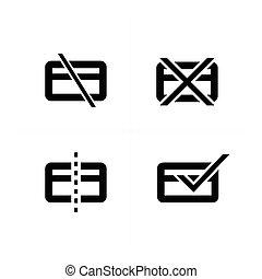 クレジット, シンボル, カード