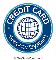 クレジット, セキュリティシステム, カード