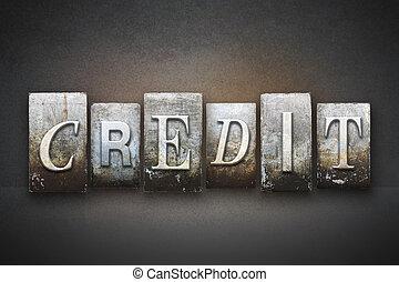 クレジット, 凸版印刷