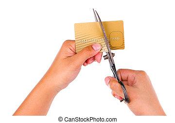 クレジット, 切口, カード