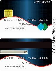 クレジット, 変形, カード