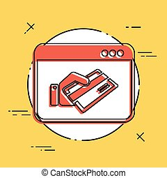 クレジット, 支払い, カード, 網