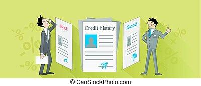 クレジット, 歴史, ひどく, そして, よい, デザイン