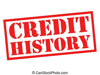 クレジット, 歴史