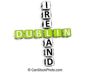 クロスワードパズル, ダブリン, アイルランド