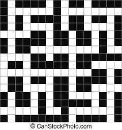 クロスワード・パズル, ベクトル, abstract.