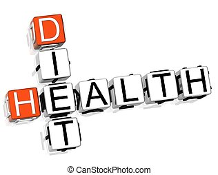 クロスワードパズル, 健康, 食事