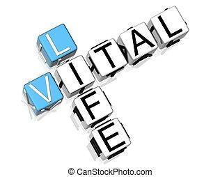 クロスワードパズル, 生活, 肝要である