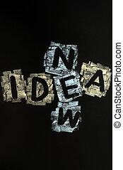 クロスワードパズル, 考え, 新しい