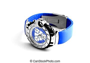 クロノグラフ, 腕時計