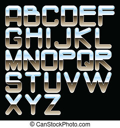 クロム, アルファベット