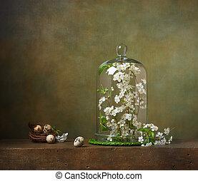 クローシュ, 生活, ブランチ, 木, 花が咲く, まだ