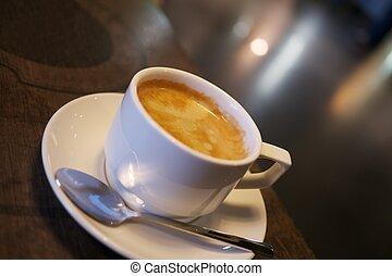 クローズアップ, コーヒーカップ