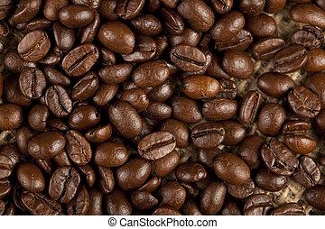 クローズアップ, 豆, コーヒー, すてきである