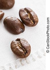 クローズアップ, 豆, コーヒー