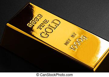 クローズアップ, 金塊, 金