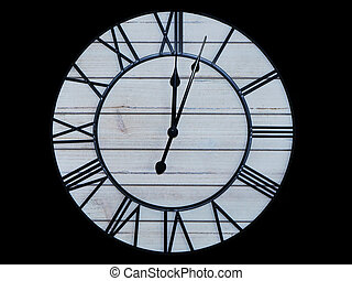 クローズアップ, 骨董品, 顔, detail., 手, 古い, 時計