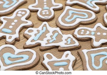 クローズアップ, gingerbread のクッキー