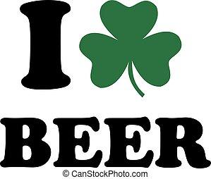 クローバー, ビール, 愛