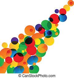 グラフィック, ライト, 抽象的, ネオン, バックグラウンド。, デザイン