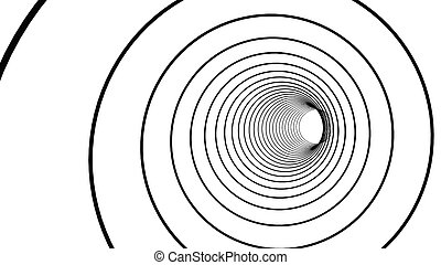 グラフィック, 抽象的, イラスト, 背景, circles., デザイン, 白, 技術, 3d