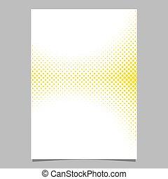 グラフィック, 背景 パターン, -, halftone, ベクトル, デザイン, テンプレート, パンフレット, 幾何学的, フライヤ, 円