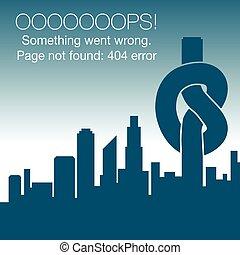 グラフィック, -, 404, 間違い, ない, 見いだされた, ページ