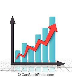 グラフ, チャート, ビジネス