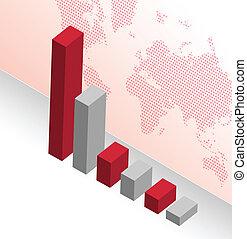 グラフ, デザイン, ビジネス 実例