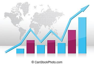 グラフ, ビジネス 実例