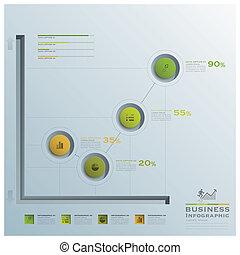 グラフ, 円, infographic, ビジネス