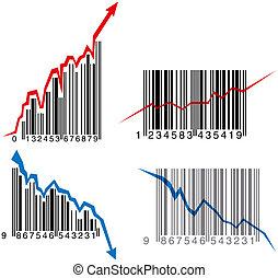 グラフ, barcode