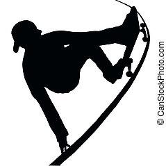 グラブ, タラップ, vert, skateboarding